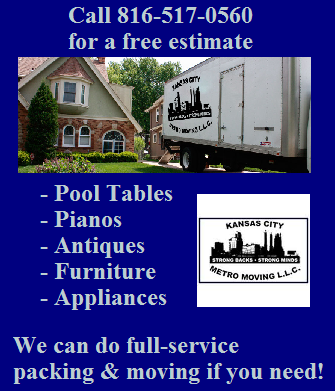 pool table movers kansas city